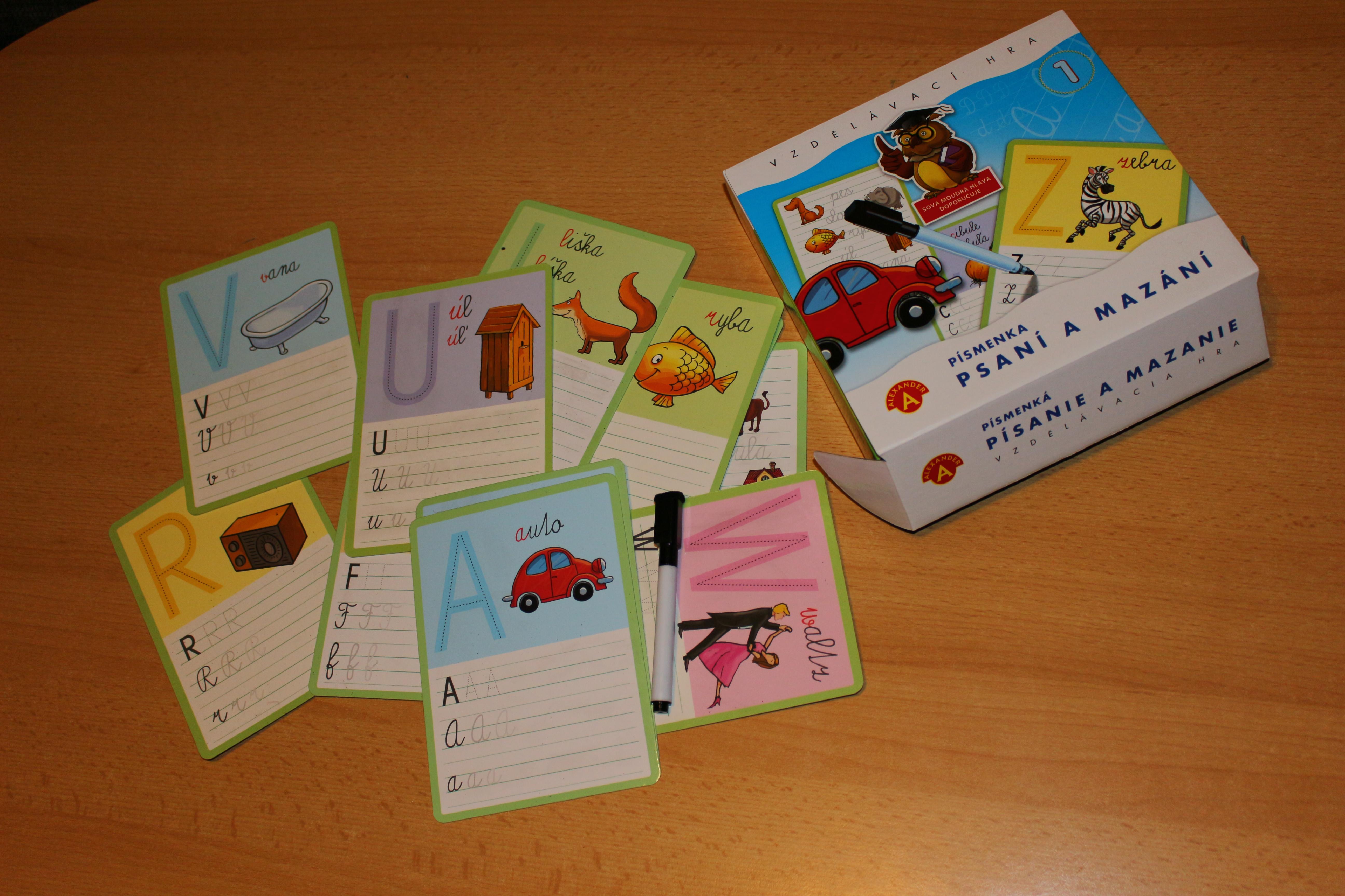 Do rukou se nám dostala hra Písmena  Psaní a mazání. Hlavní 8a67fca545